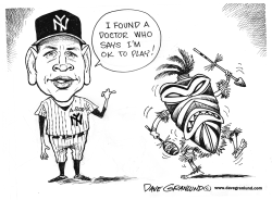 A-rod on disabled list by Dave Granlund