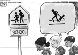 Back-to-school Blues by Pat Bagley