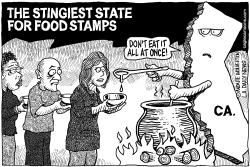LOCAL-CA The Worst State for Food Stamps by Wolverton
