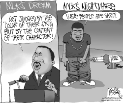 MLK's Shattered Dream by Gary McCoy