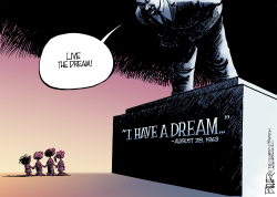 I Have A Dream Anniversary  by Nate Beeler