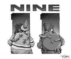 Nine Eleven by Tim Campbell