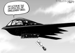 Bombing on Syria by Nate Beeler