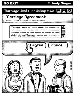 Marriage Agreement by Andy Singer