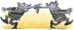 Knotty Republicans   by Daryl Cagle