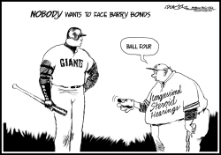 Bonds gets free pass by J.D. Crowe