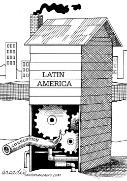 Corruption on Latin America by Arcadio Esquivel
