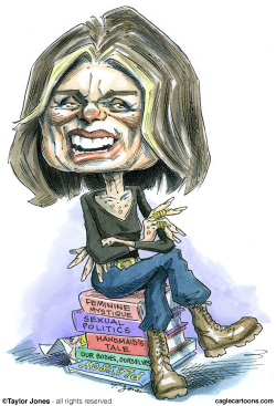Medal of Freedom recipient Gloria Steinem -  by Taylor Jones