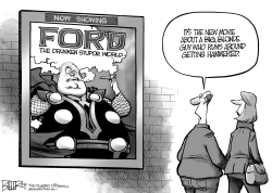 Rob Ford Movie by Nate Beeler