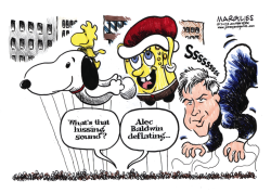 Alec Baldwin color by Jimmy Margulies