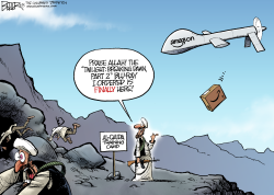 Drone Strike  by Nate Beeler