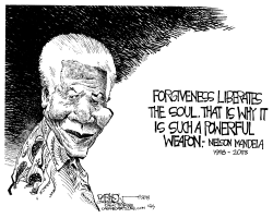 Mandela by John Darkow