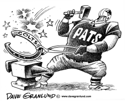 Patriots beat Colts by Dave Granlund