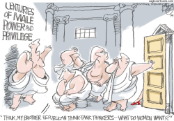 What Women Want  by Pat Bagley