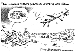 Cape Cod drone site and privacy by Dave Granlund