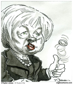Yellen era begins by Taylor Jones