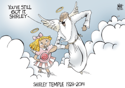 SHIRLEY TEMPLE,  by Randy Bish