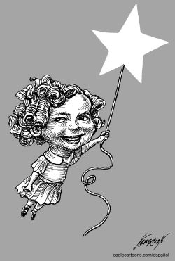 Shirley Temple by Antonio Neri Licón