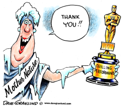 Oscar for Mother Nature by Dave Granlund