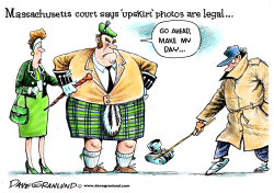 Upskirt photos legal in MA by Dave Granlund