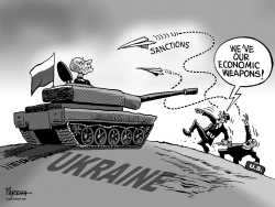 Threatening Russia by Paresh Nath