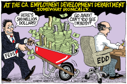 LOCAL-CA Ca Employment Dept Skips 500 mil by Wolverton
