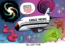 The Lost Plane  by Nate Beeler