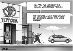Sudden Acceleration of Toyota Truth Telling by RJ Matson