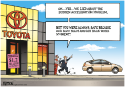 Sudden Acceleration of Toyota Truth Telling- by RJ Matson