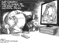 Wilderness Protection by Pat Bagley