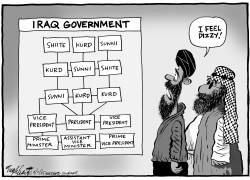 Iraqs New Government by Bob Englehart