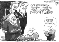 Blessed Billionaires by Pat Bagley