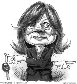 General Motors CEO Mary Barra by Taylor Jones