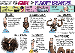 LOCAL OH - Playoff Beards  by Nate Beeler