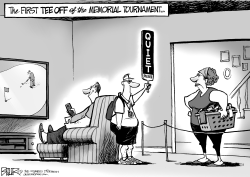 LOCAL OH - Memorial Tournament by Nate Beeler