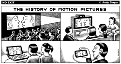 History of Motion Pictures by Andy Singer