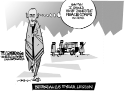 Bergdahl by David Fitzsimmons