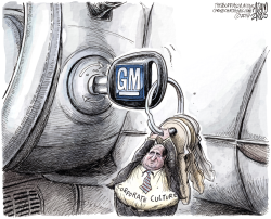 GM Corporate Culture  by Adam Zyglis