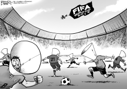 World Cup Bites by Nate Beeler