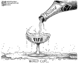World Cup by Adam Zyglis
