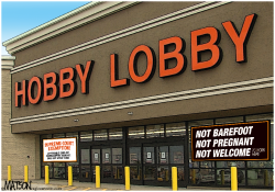Hobby Lobby Affordable Care Act Exemption- by RJ Matson