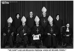 Religious Freedom on the Supreme Court by RJ Matson