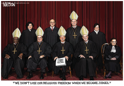 Religious Freedom on the Supreme Court- by RJ Matson
