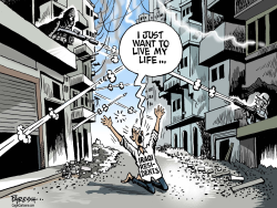 Iraqi  Right to Life  by Paresh Nath