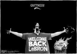 Return of the King James by Nate Beeler