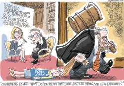 Women and SCOTUS by Pat Bagley