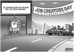 Labor Day Parade For Job Creators by RJ Matson