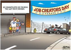 Labor Day Parade For Job Creators- by RJ Matson