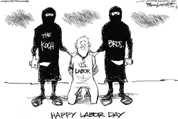 Labor Day by Milt Priggee