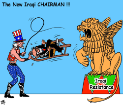 the new iraqi chairman by Emad Hajjaj